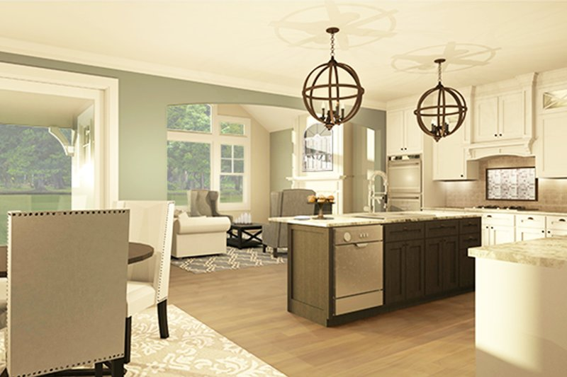 Ranch Interior - Kitchen Plan #1010-185 - Houseplans.com