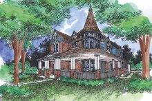 Dream House Plan - Victorian Exterior - Front Elevation Plan #320-919