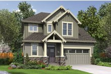 House Plan Design - Craftsman Exterior - Front Elevation Plan #48-660