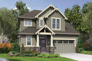 Craftsman Exterior - Front Elevation Plan #48-660
