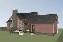 Dream House Plan - Craftsman Exterior - Other Elevation Plan #79-259