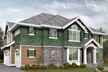 Craftsman Exterior - Front Elevation Plan #132-446