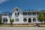 Classical Style House Plan - 3 Beds 4.5 Baths 4134 Sq/Ft Plan #930-460 Exterior - Other Elevation