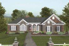 Dream House Plan - Craftsman Exterior - Front Elevation Plan #56-682