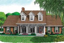 House Design - Victorian Exterior - Front Elevation Plan #11-242