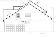 Colonial Exterior - Other Elevation Plan #1053-49