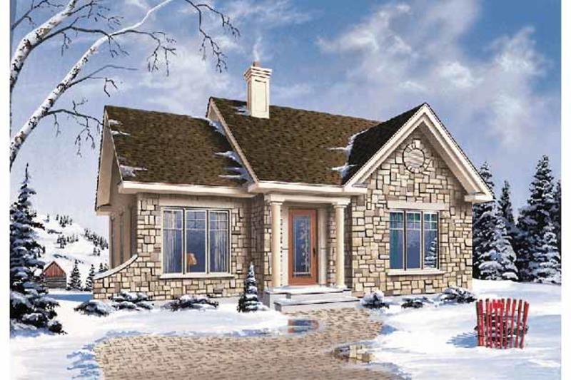 Craftsman Exterior - Front Elevation Plan #23-2361 - Houseplans.com