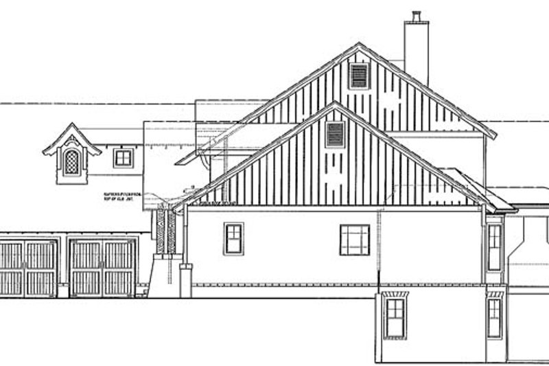 Craftsman Exterior - Other Elevation Plan #54-374 - Houseplans.com