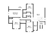 Farmhouse Style House Plan - 4 Beds 3.5 Baths 2944 Sq/Ft Plan #48-982 Floor Plan - Upper Floor