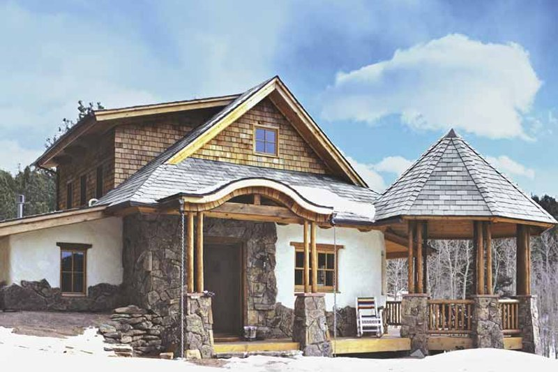 Traditional Exterior - Other Elevation Plan #1042-8 - Houseplans.com