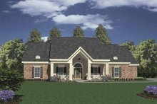 Home Plan - Classical Exterior - Front Elevation Plan #36-538