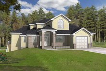 House Design - Traditional Exterior - Front Elevation Plan #1037-8