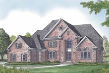 House Plan Design - Traditional Exterior - Front Elevation Plan #453-602