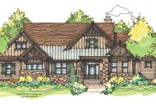 House Plan Design - Craftsman Exterior - Front Elevation Plan #929-934
