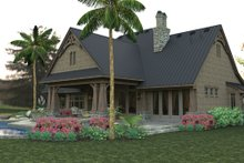 Architectural House Design - Craftsman Exterior - Rear Elevation Plan #120-246