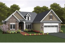 House Design - Ranch Exterior - Front Elevation Plan #1010-45