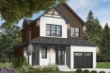 Home Plan - Country Exterior - Front Elevation Plan #23-2119