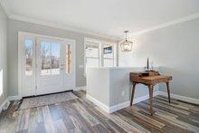 Architectural House Design - Farmhouse Interior - Entry Plan #928-328