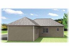 Craftsman Exterior - Rear Elevation Plan #44-218