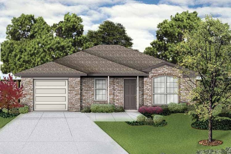 Traditional Exterior - Front Elevation Plan #84-746