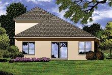 Contemporary Exterior - Rear Elevation Plan #1015-43