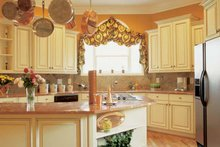 Classical Interior - Kitchen Plan #927-60