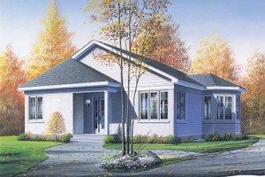 House Design - Victorian Exterior - Front Elevation Plan #23-2359