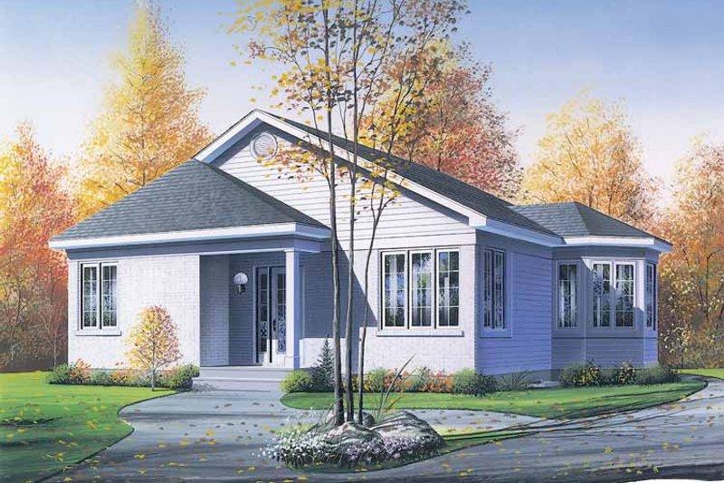 Dream House Plan - Victorian Exterior - Front Elevation Plan #23-2359
