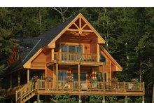 Traditional Exterior - Rear Elevation Plan #118-145