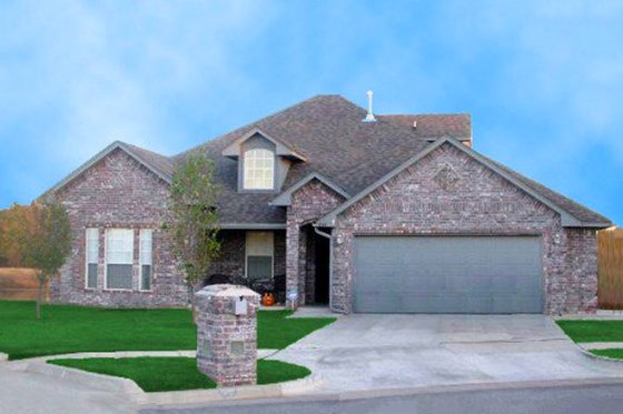 Traditional Exterior - Front Elevation Plan #65-400