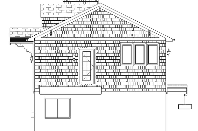 Ranch Exterior - Other Elevation Plan #1060-28 - Houseplans.com
