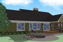 Craftsman Exterior - Other Elevation Plan #51-512