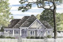 House Plan Design - European Exterior - Front Elevation Plan #316-265