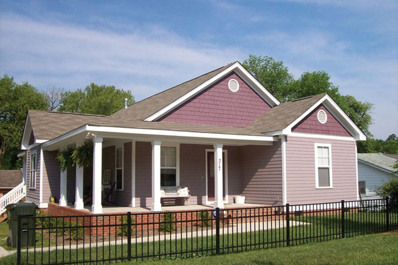 Craftsman style house plan 3 beds 2 baths 1128 sq ft for Weinmaster house plans