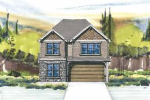 Craftsman Exterior - Front Elevation Plan #509-288