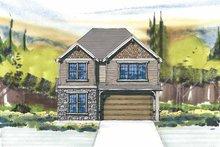 Craftsman Exterior - Front Elevation Plan #509-288
