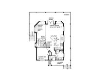Cabin Floor Plan - Main Floor Plan Plan #118-167