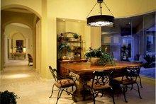 House Plan Design - Mediterranean Interior - Dining Room Plan #930-104