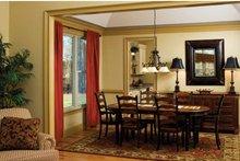 Dream House Plan - Tudor Interior - Dining Room Plan #929-613