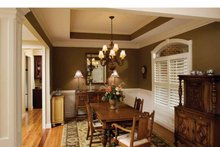 House Plan Design - Country Interior - Dining Room Plan #929-542