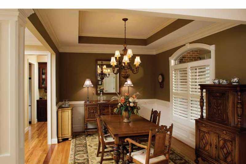 Country Interior - Dining Room Plan #929-542 - Houseplans.com