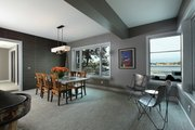 Contemporary Style House Plan - 4 Beds 4.5 Baths 6717 Sq/Ft Plan #928-261 Interior - Family Room