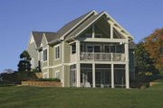 Traditional Style House Plan - 3 Beds 2.5 Baths 2322 Sq/Ft Plan #928-165 Exterior - Rear Elevation