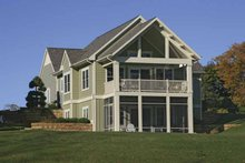 House Plan Design - Traditional Exterior - Rear Elevation Plan #928-165