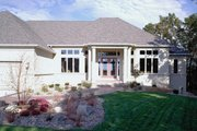 Ranch Style House Plan - 2 Beds 2.5 Baths 2794 Sq/Ft Plan #51-466 Exterior - Other Elevation
