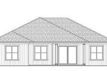 Architectural House Design - Craftsman Exterior - Rear Elevation Plan #938-97