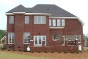 Classical Style House Plan - 4 Beds 3.5 Baths 3169 Sq/Ft Plan #119-139 Exterior - Rear Elevation