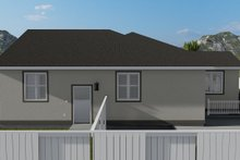 House Plan Design - Traditional Exterior - Other Elevation Plan #1060-45