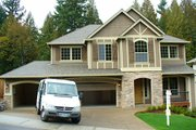 Tudor Style House Plan - 3 Beds 2.5 Baths 2878 Sq/Ft Plan #487-6 Exterior - Other Elevation