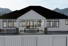 Home Plan - Ranch Exterior - Rear Elevation Plan #1060-30